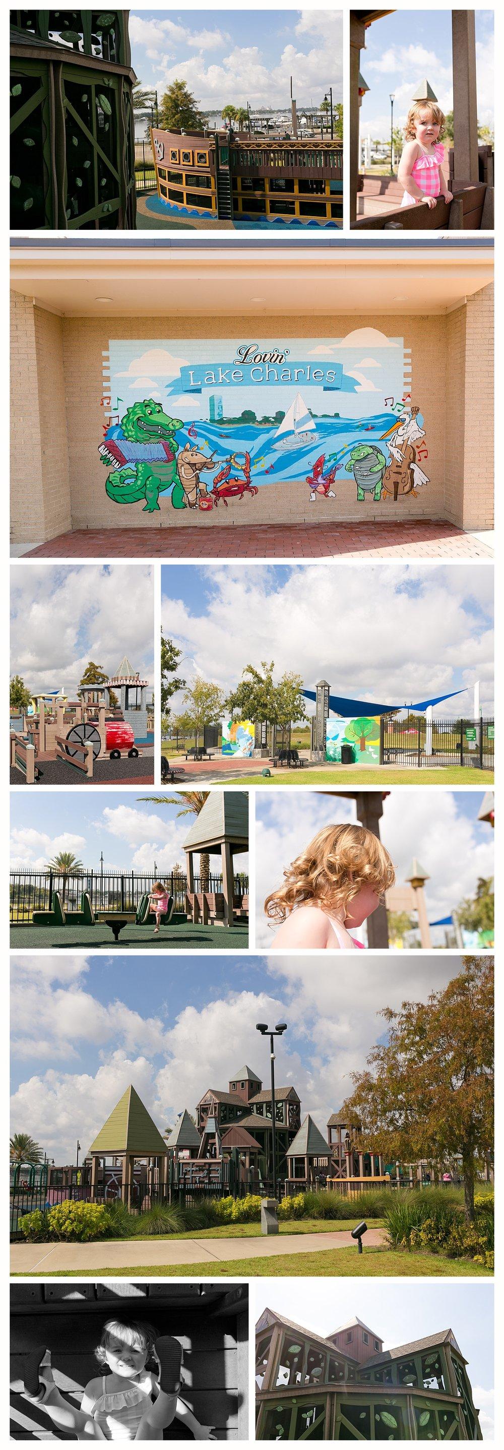 Millennium Park playground in Lake Charles, Louisiana