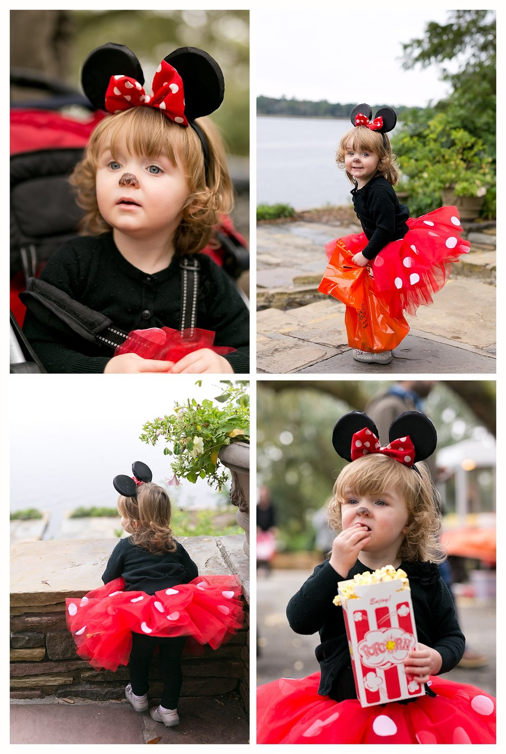 Minnie Mouse Halloween costume for two-year-old girl
