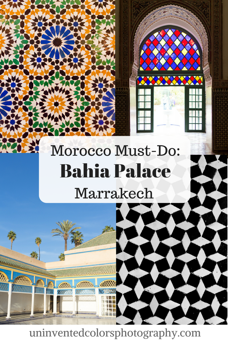 Marrakesh, Morocco Travel Blog: Bahia Palace Photos
