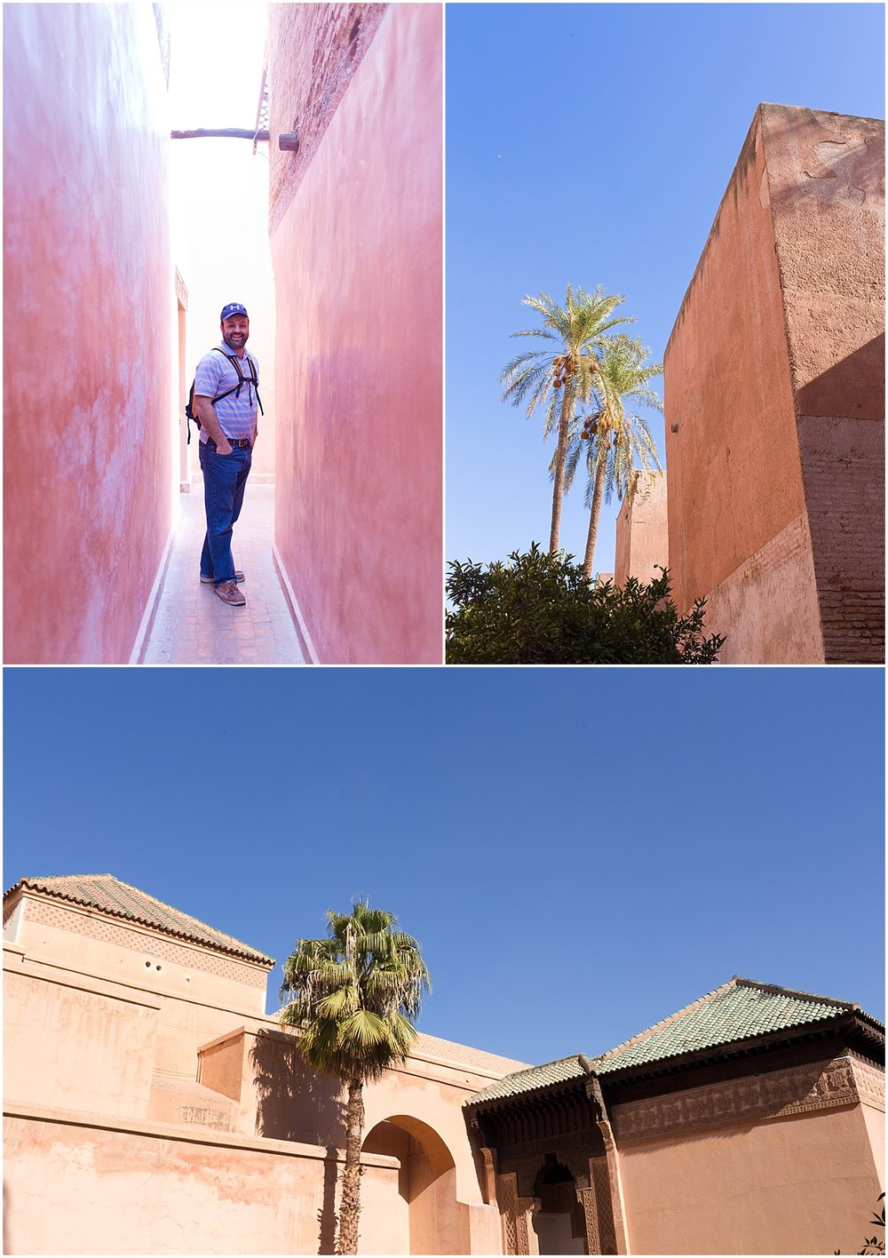 entrance to Saadian Tombs of Marrakech