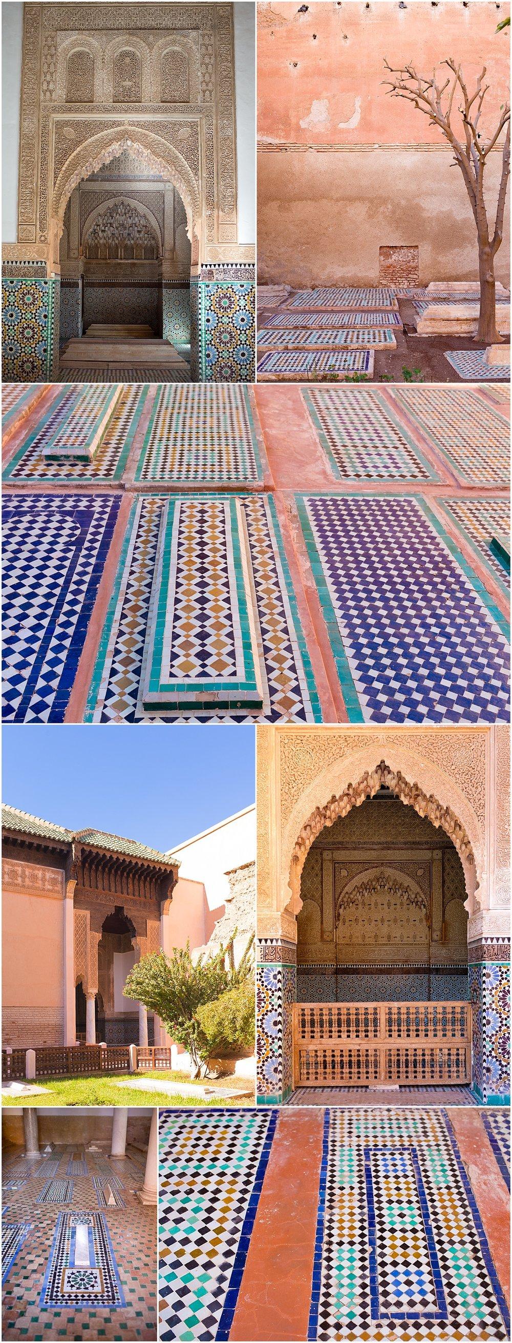 Saadian tombs of Marrakech, Morocco - travel blog