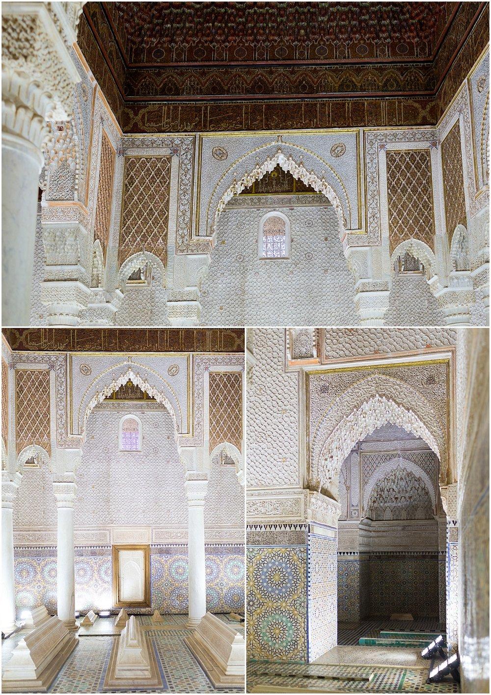 Saadian tombs in Marrakech - Morocco travel blog