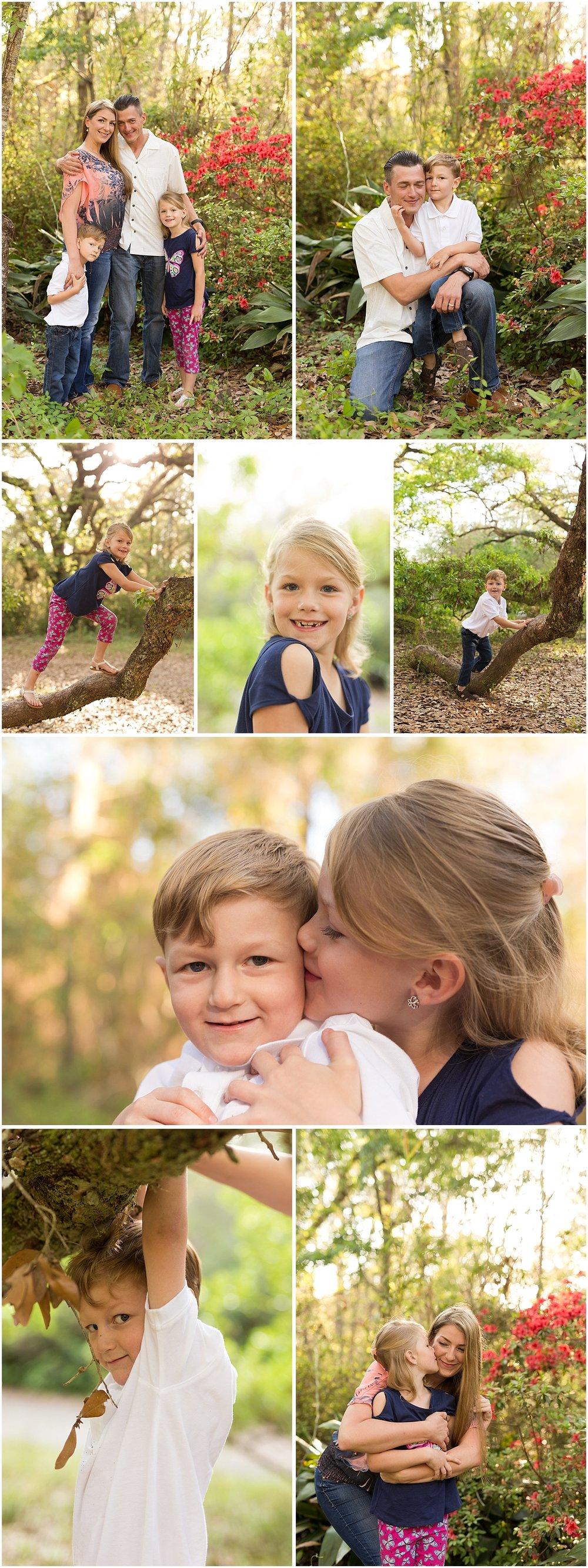 Ocean Springs Family Photographer - Spring family portraits