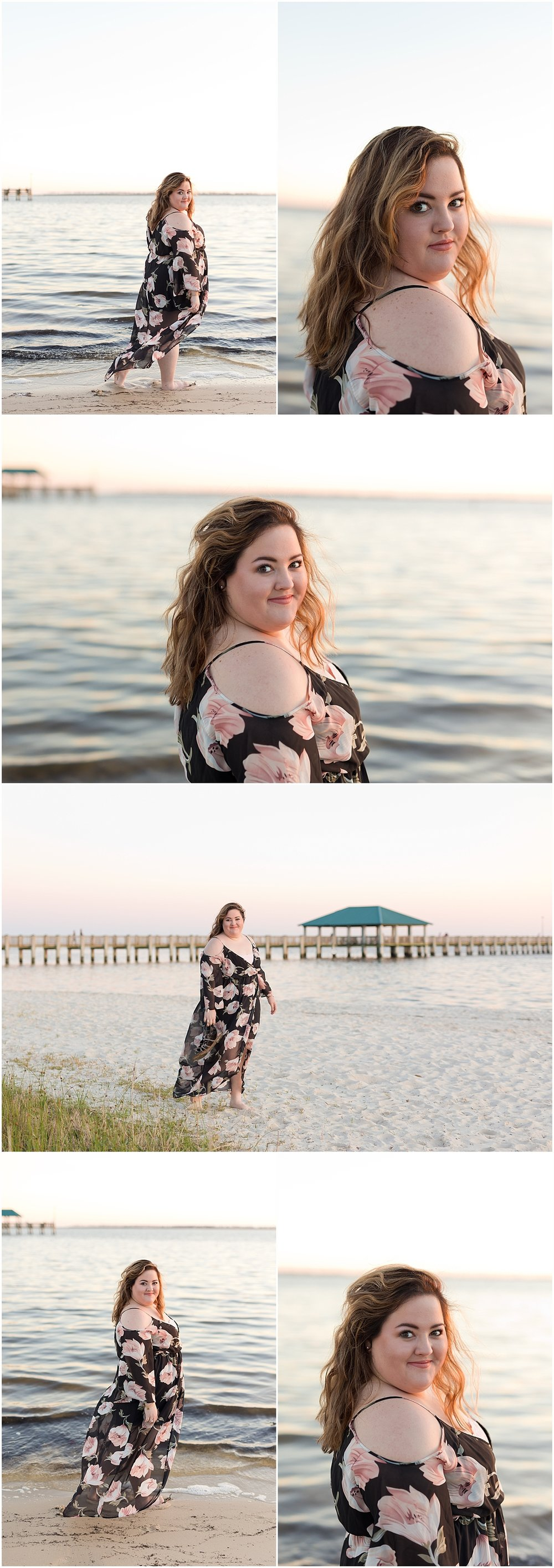 Ocean Springs Senior Photographer - senior photos on Front Beach