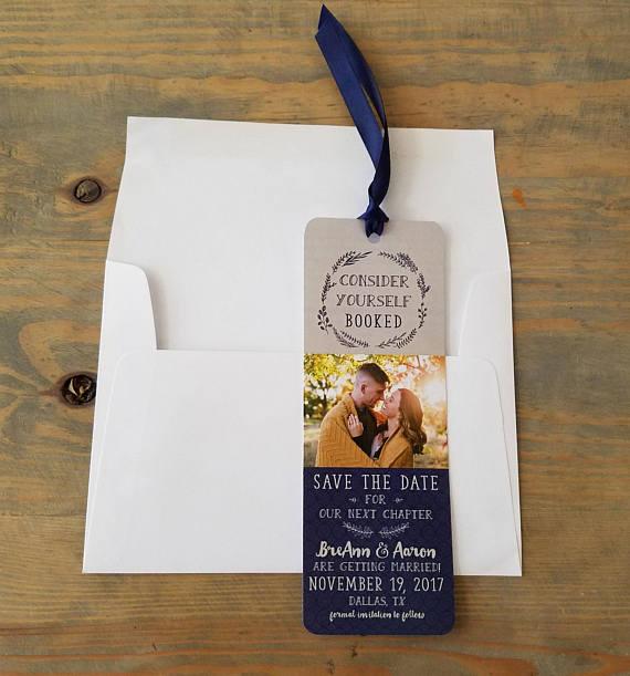 Bookmark Save the Date - Etsy wedding ideas by Mississippi Gulf Coast wedding photographer