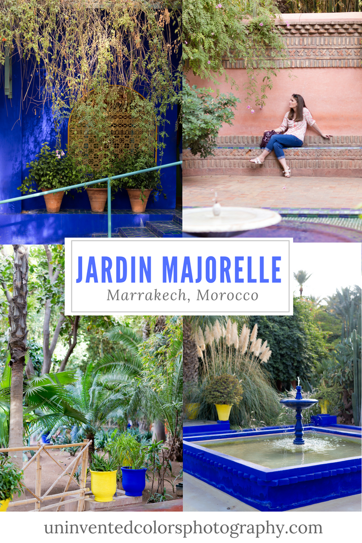 Jardin Majorelle Marrakech Morocco Travel Blog with botanical garden photos