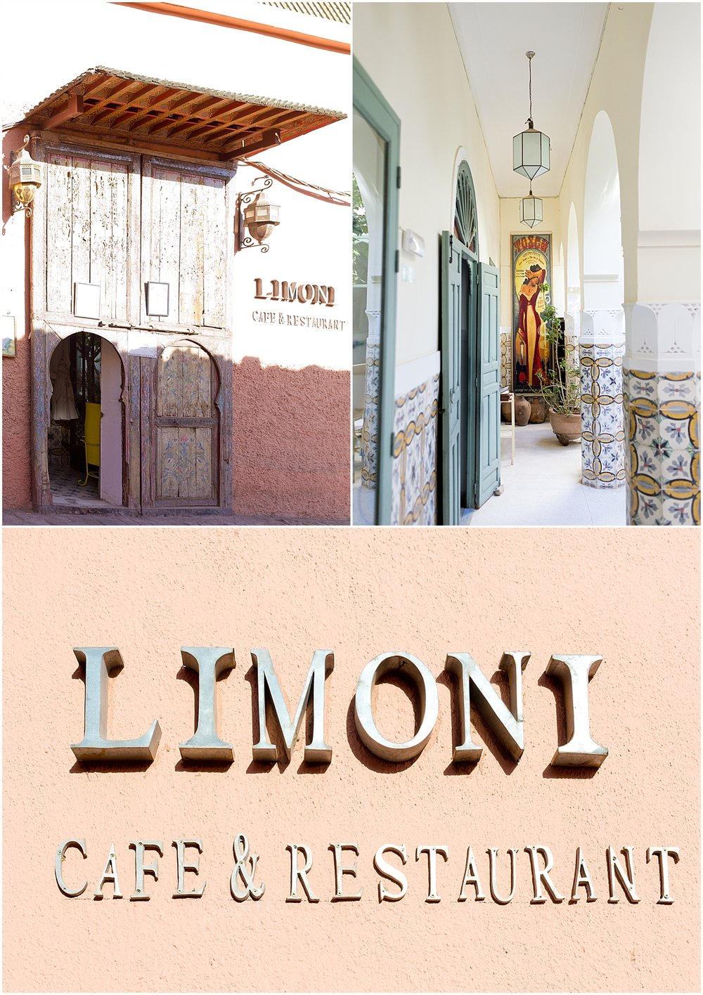 Limoni restaurant, Marrakech, Morocco