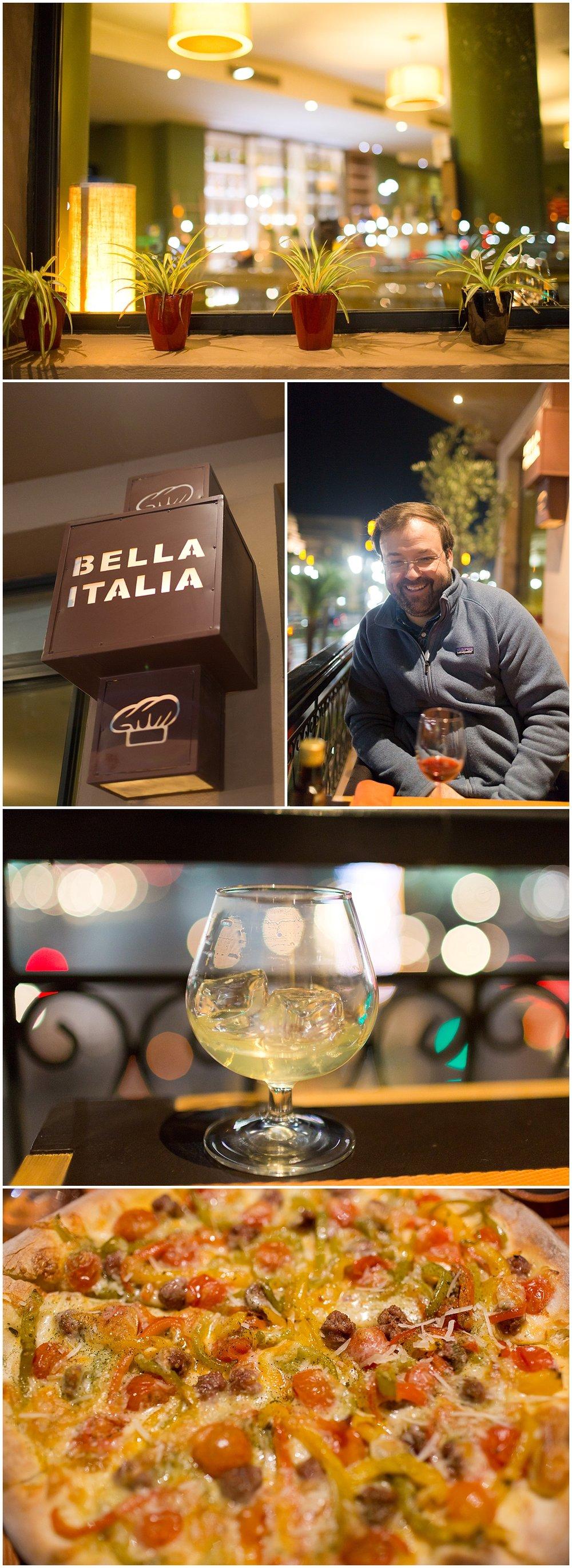 Bella Italia pizza restaurant in Ville Nouvelle, Marrakech