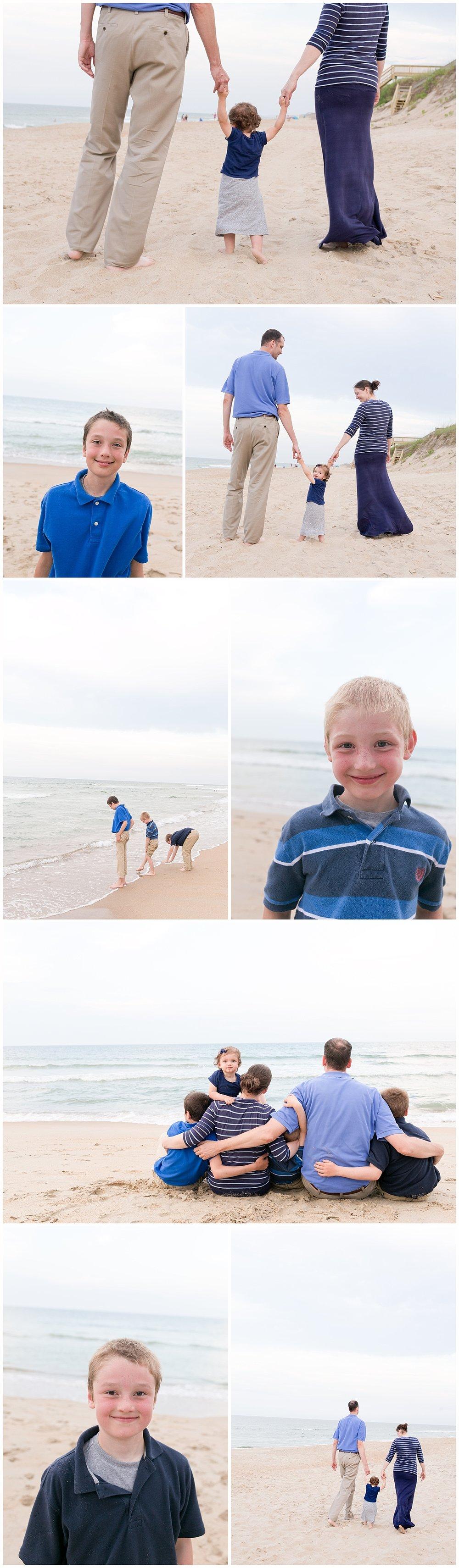 family photos at the beach - Ocean Springs family photographer