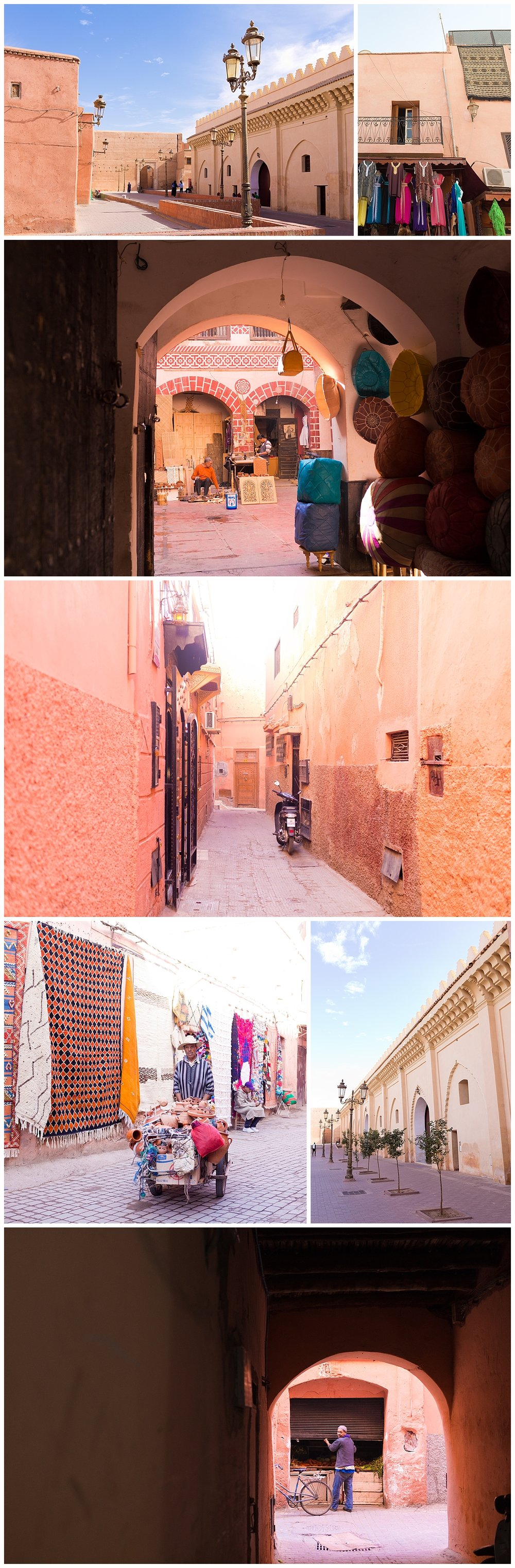 scenes from the Marrakech medina