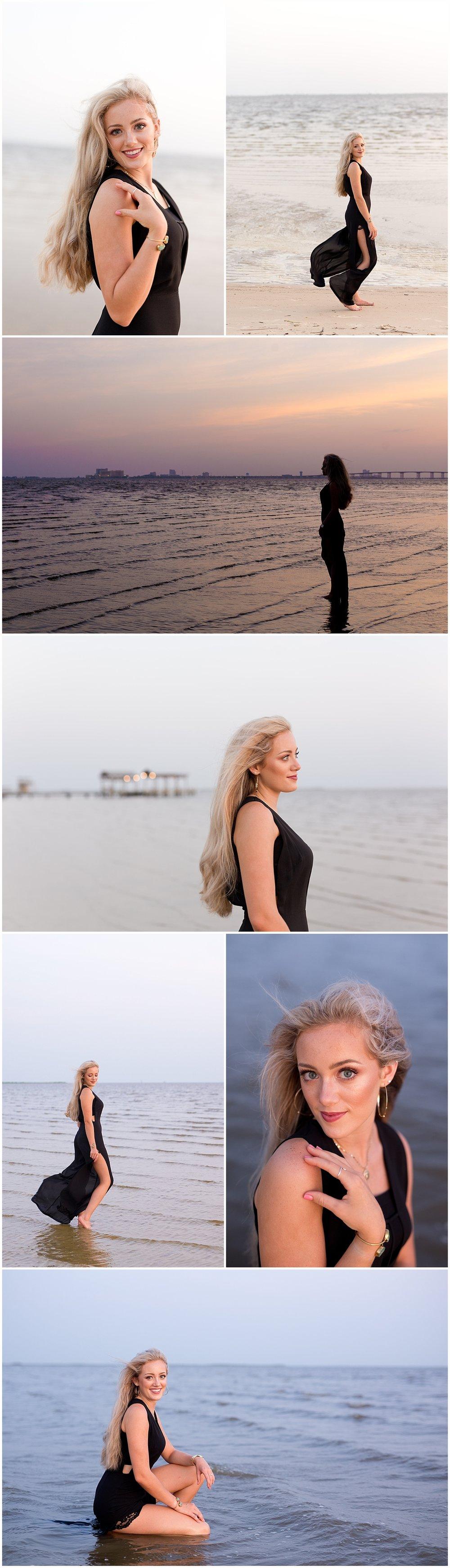 Ocean Springs senior portraits - East Beach senior pictures