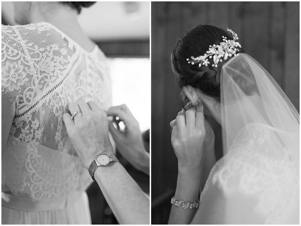 bride preparing for ceremony - destination wedding photographer