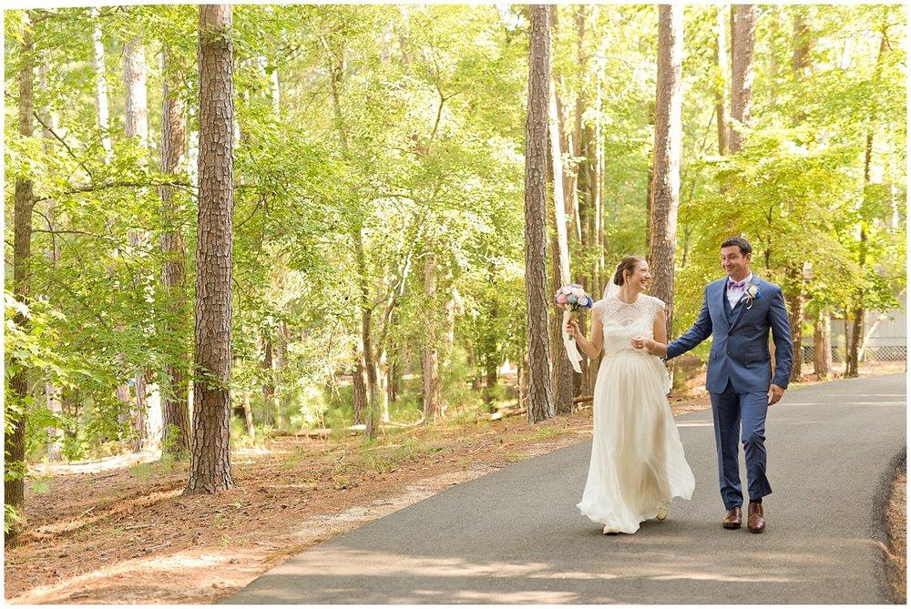Clemson Outdoor Lab wedding