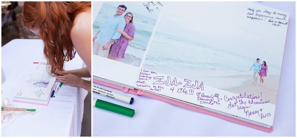wedding guestbook - destination wedding photographer