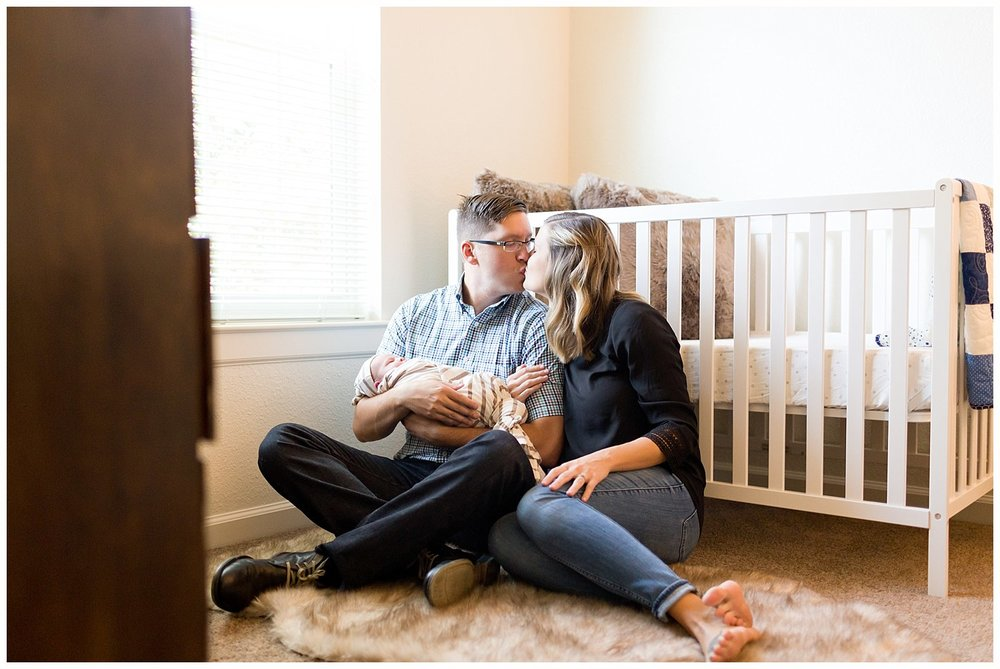 Biloxi lifestyle newborn photographer - nursery photos