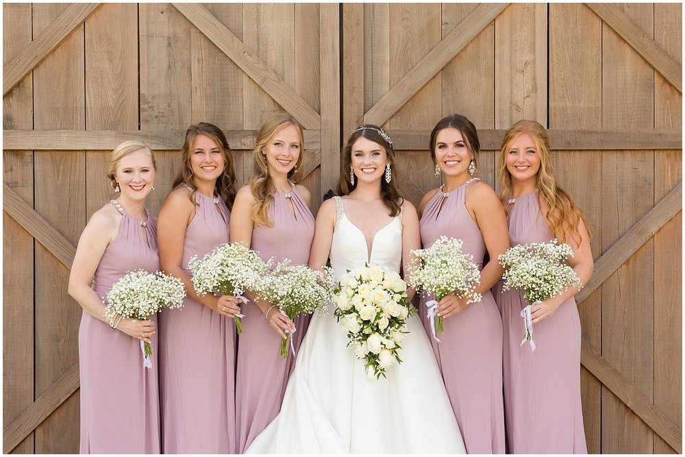 rustic chic bridesmaid photo - South Mississippi wedding photographer