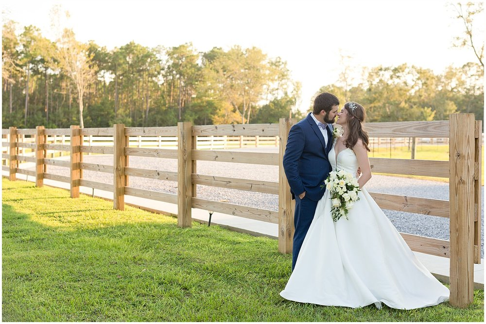 rustic barn wedding in Kiln, MS - Ocean Springs wedding photographer