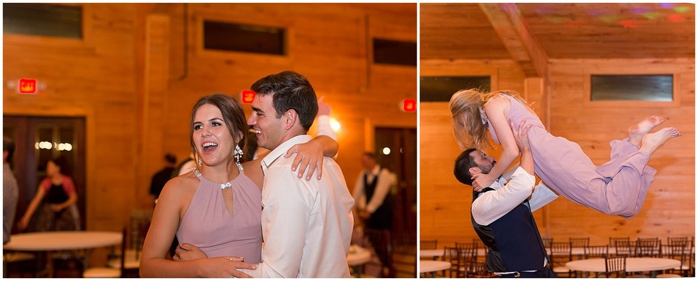candid dancing photos at South Mississippi wedding