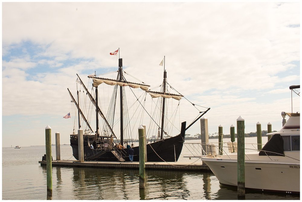 Nina and Pinta replica ships