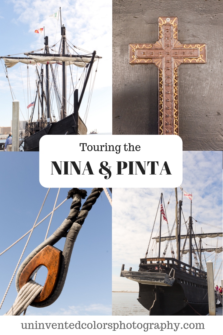 Touring the Nina and the Pinta in Biloxi, Mississippi