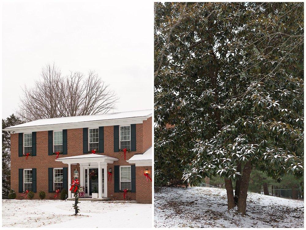 snow in Ashland, KY