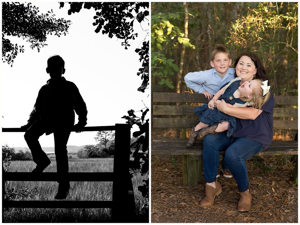 outdoor family photos in Ocean Springs