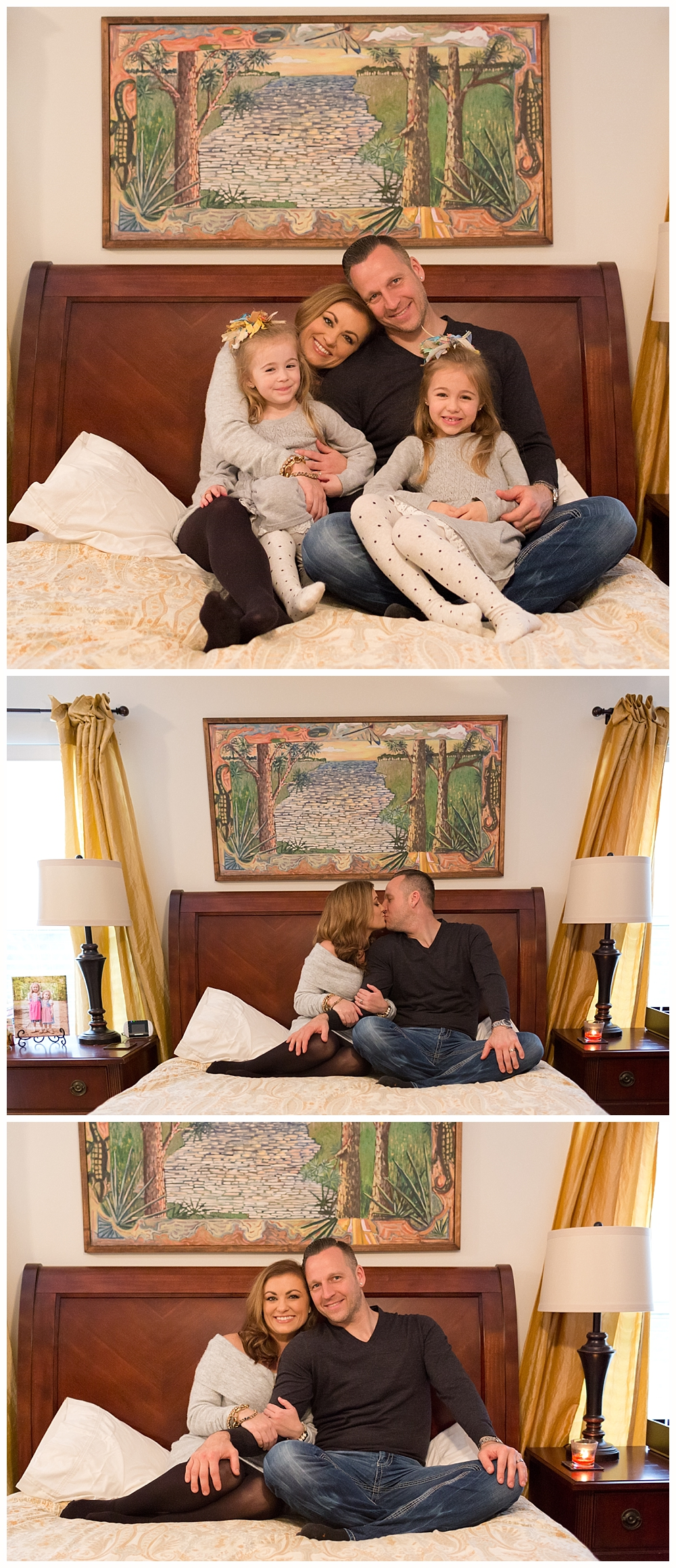 family pictures at home - Ocean Springs lifestyle photographer