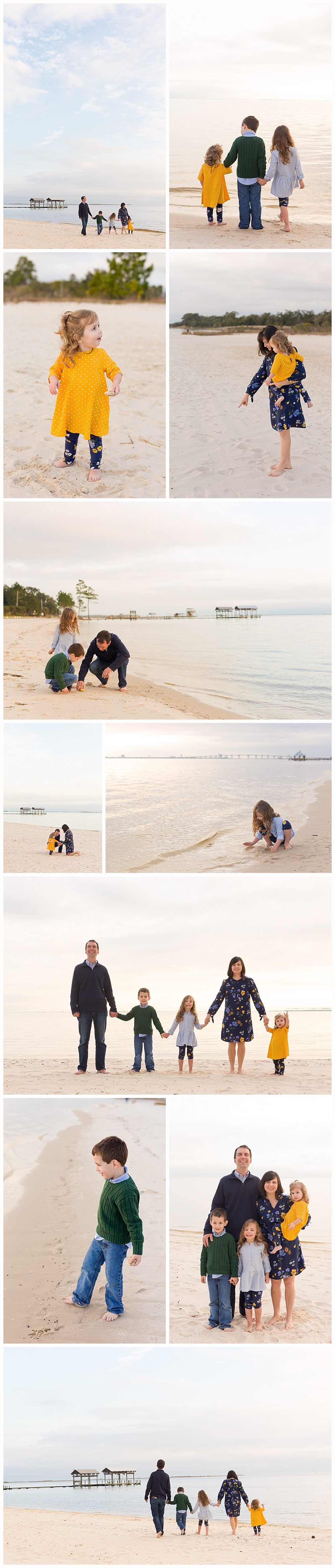 family pictures at the beach - Ocean Springs family photographer