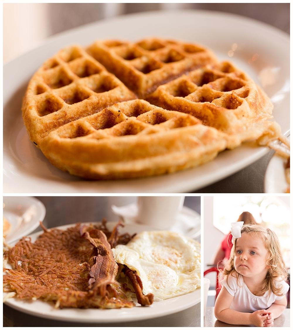 breakfast at Billups restaurant in Biloxi, Mississippi