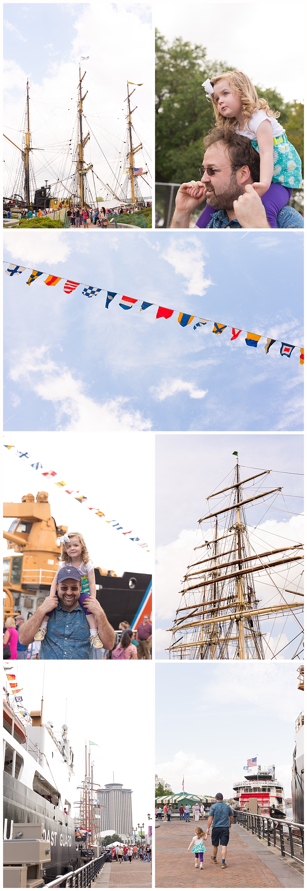 tall ships in New Orleans - April 2018