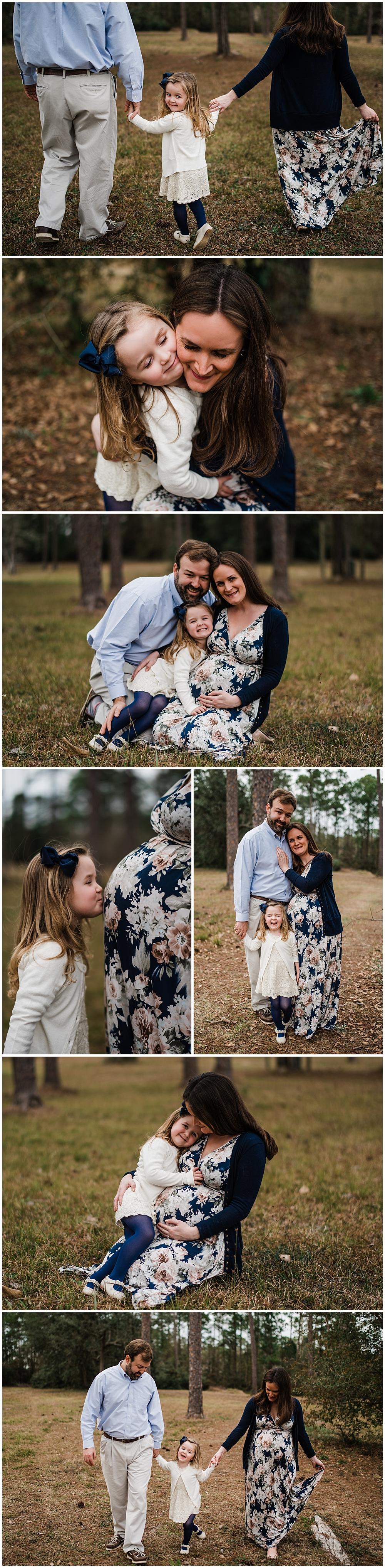 family maternity photos in Biloxi