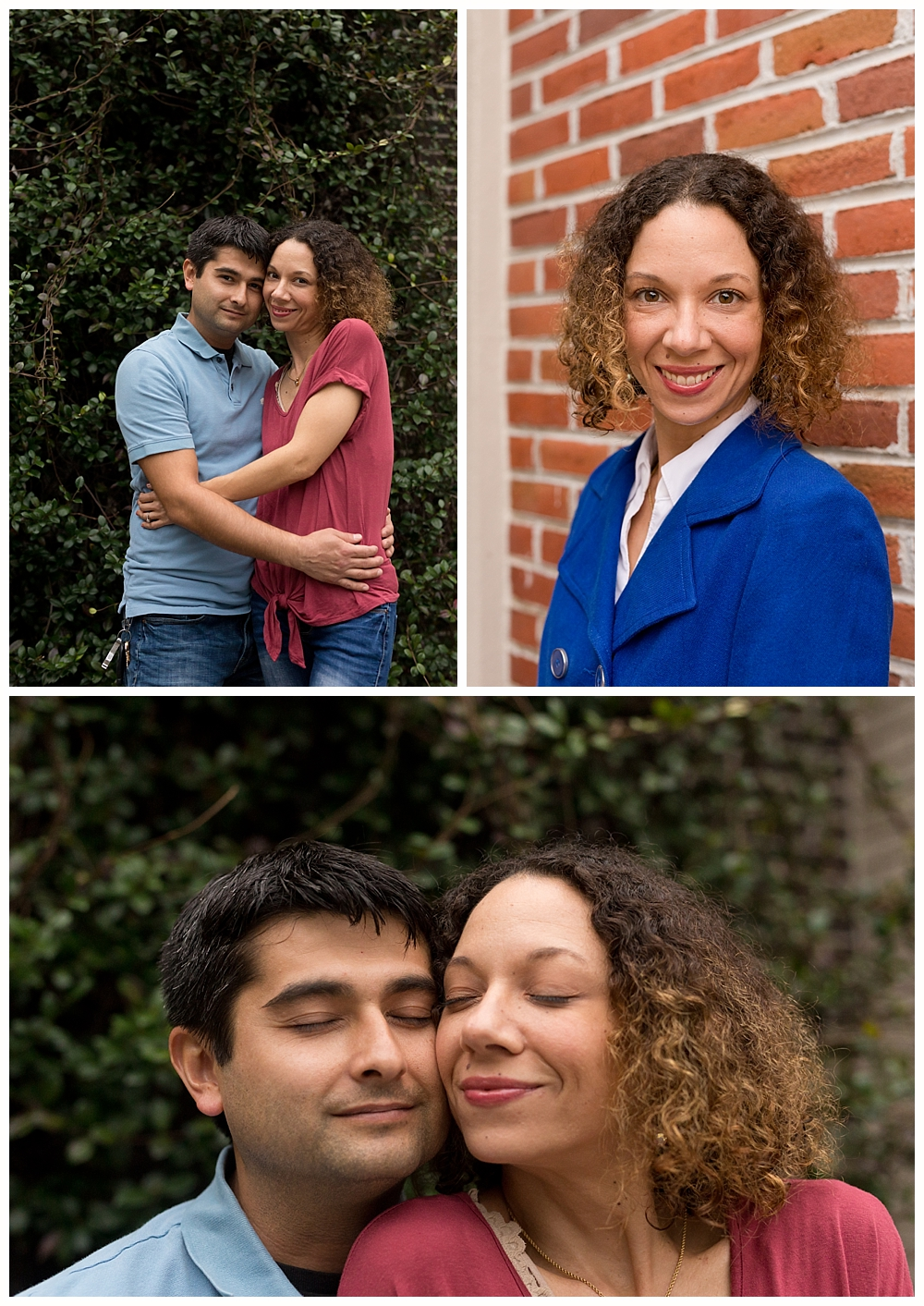 headshots and couple portraits in downtown Ocean Springs