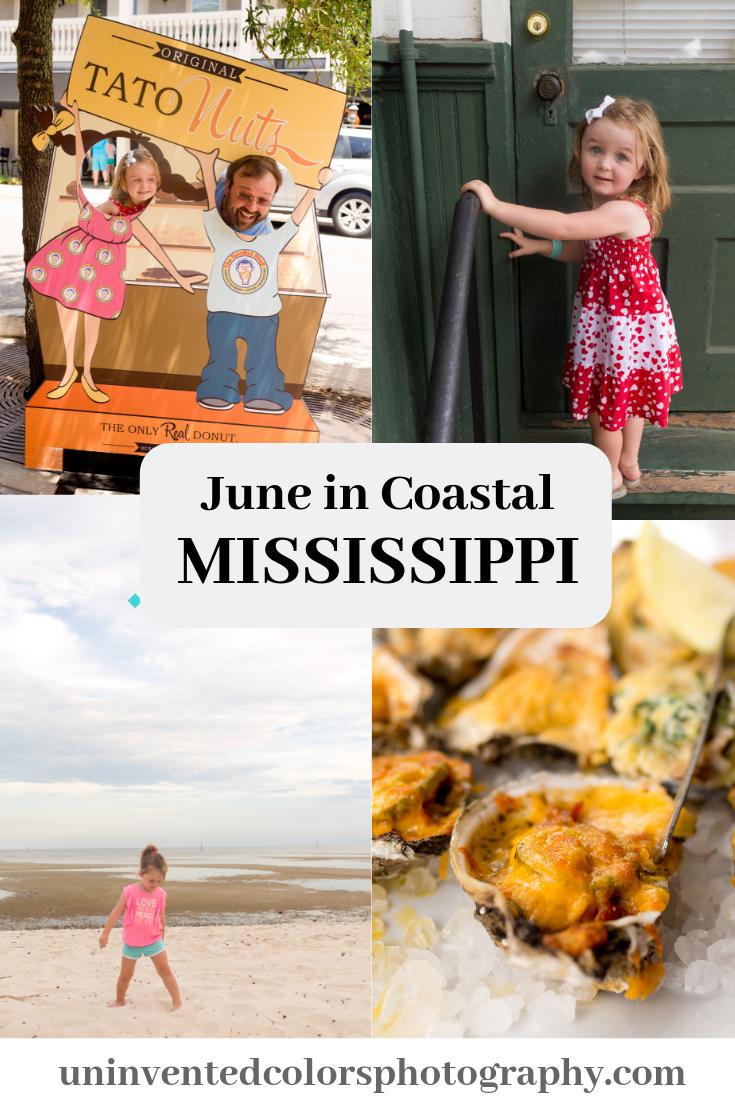 Coastal Mississippi in June blog post