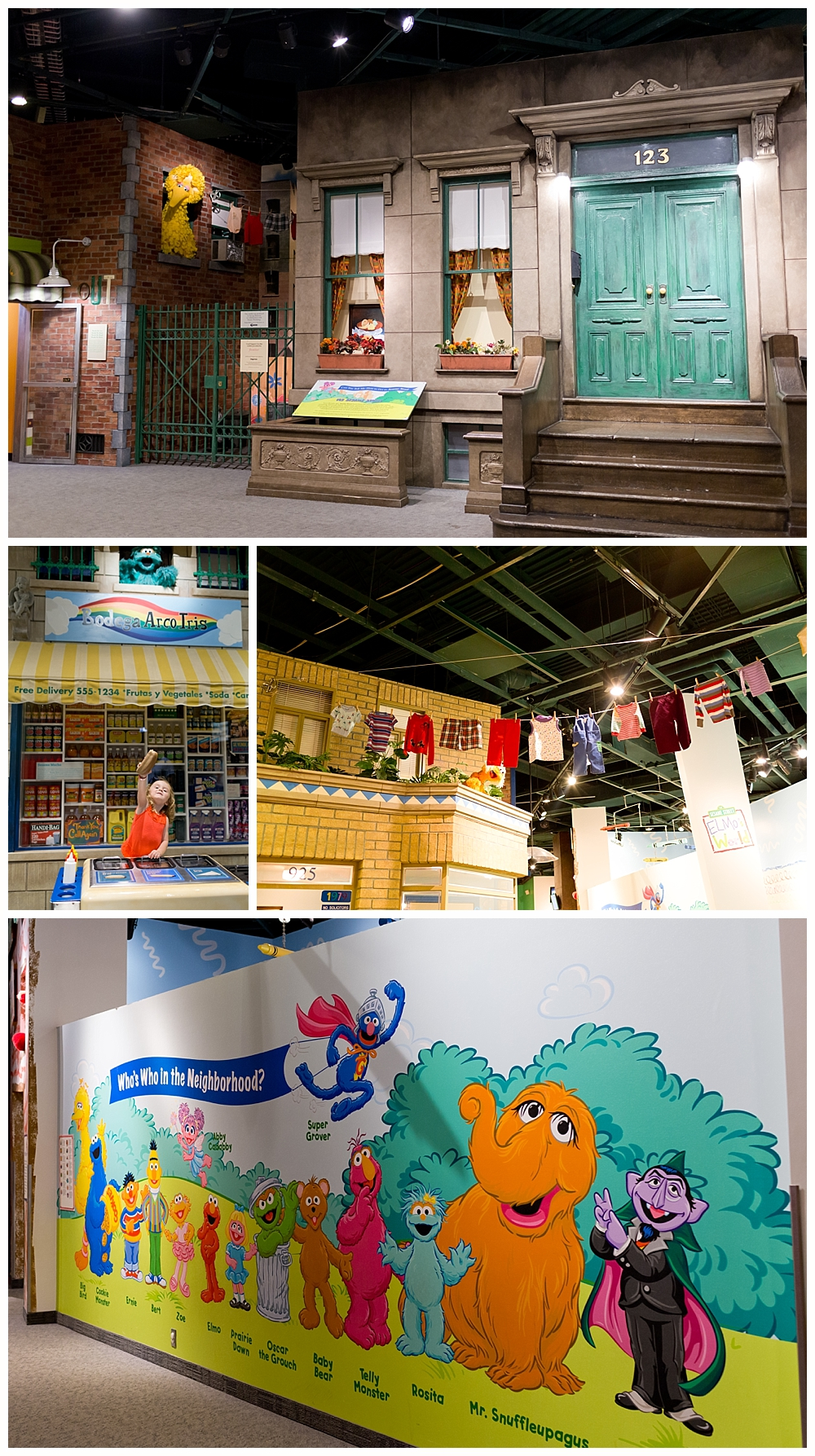Sesame Street Exhibit at Strong National Museum of Play