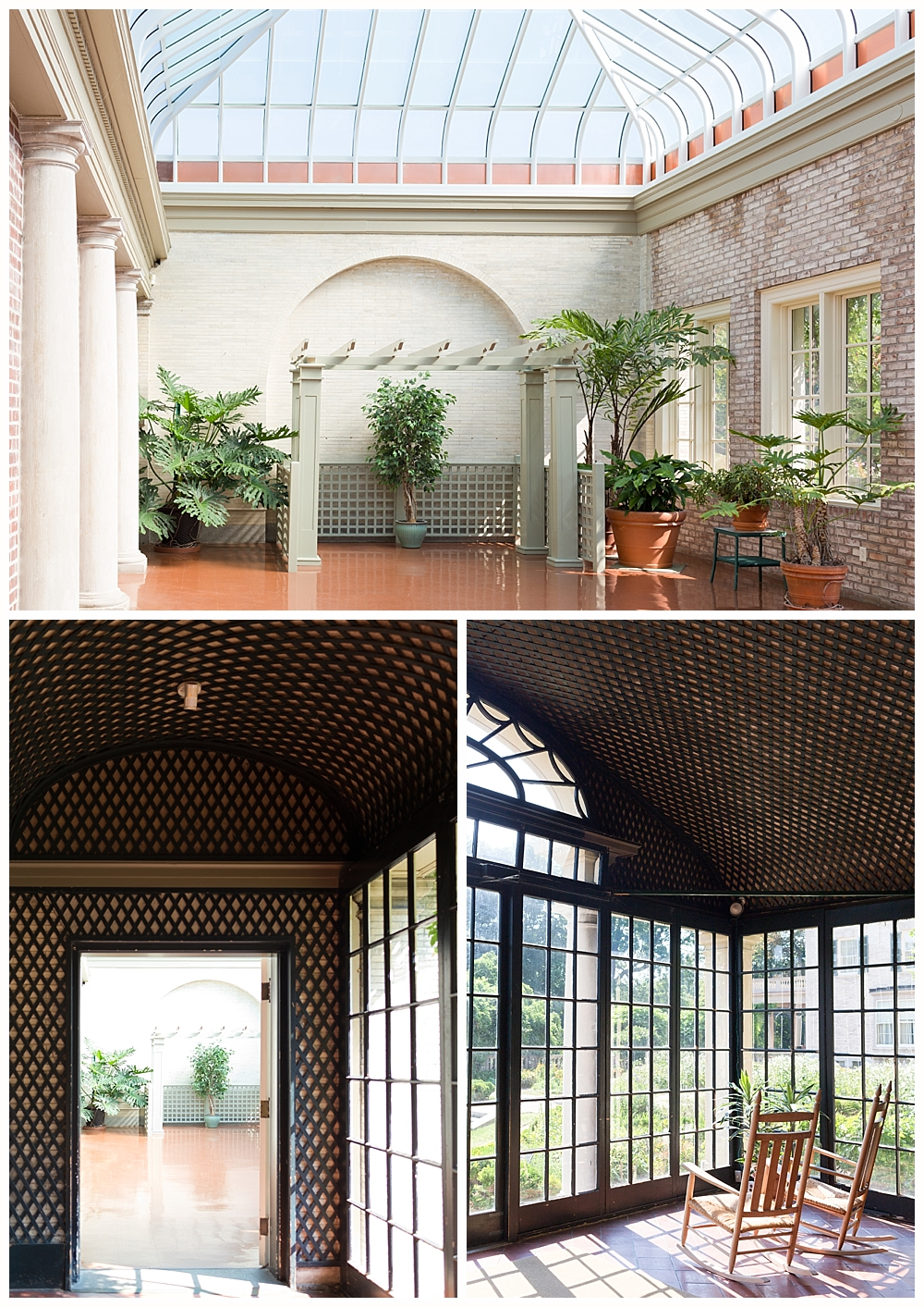 Palm House and Colonnade at George Eastman mansion and museum