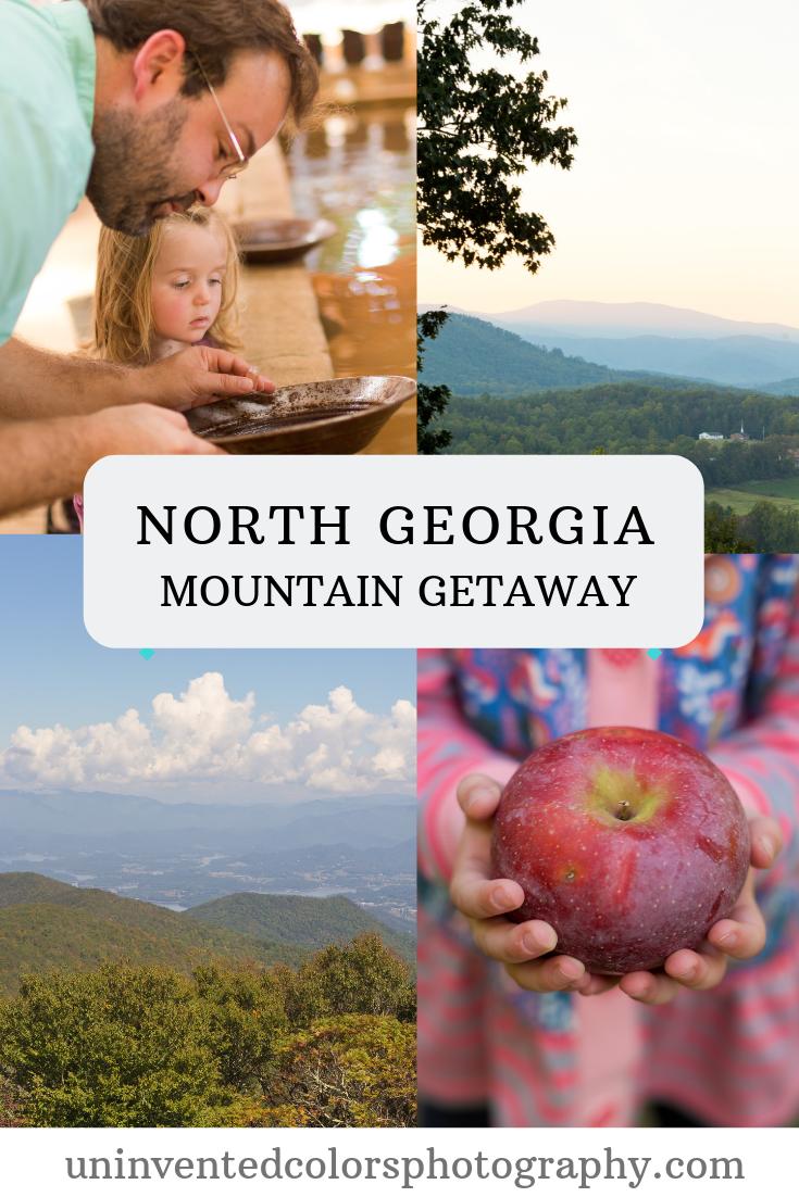 North Georgia Mountain Getaway - Autumn Travel Blog Post