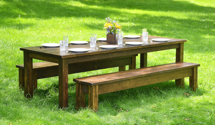 ... Rustic, Elegant Feeling At Your Next Special Event Or Wedding. We Rent  Our Farm Tables Throughout The Pittsburgh Metro Area And Surrounding  Communities.