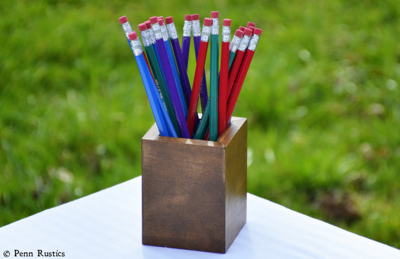 Everyday Rustic Wood Pencil Cup.jpg