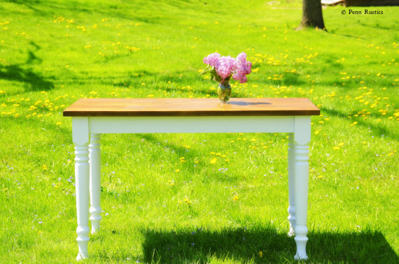 Everyday French Country Solid Wood Rustic Desk - Free Shipping3.jpg