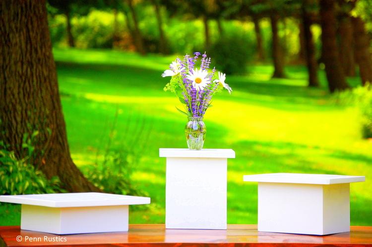 CELEBRATIONS THREE WEDDING CAKE STAND SET.jpg