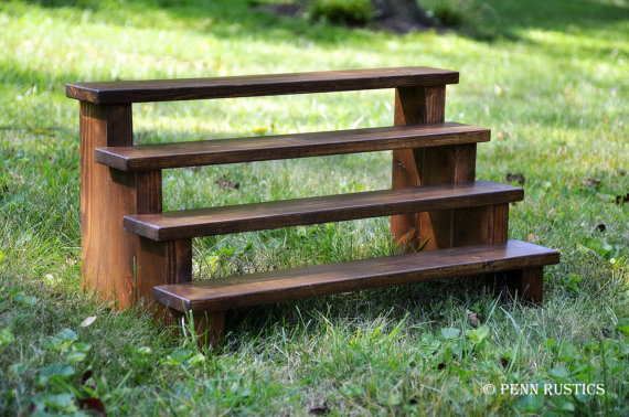 CELEBRATIONS RUSTIC WOOD 4-TIER CUPCAKE DESSERT STAND - SMALL.jpg