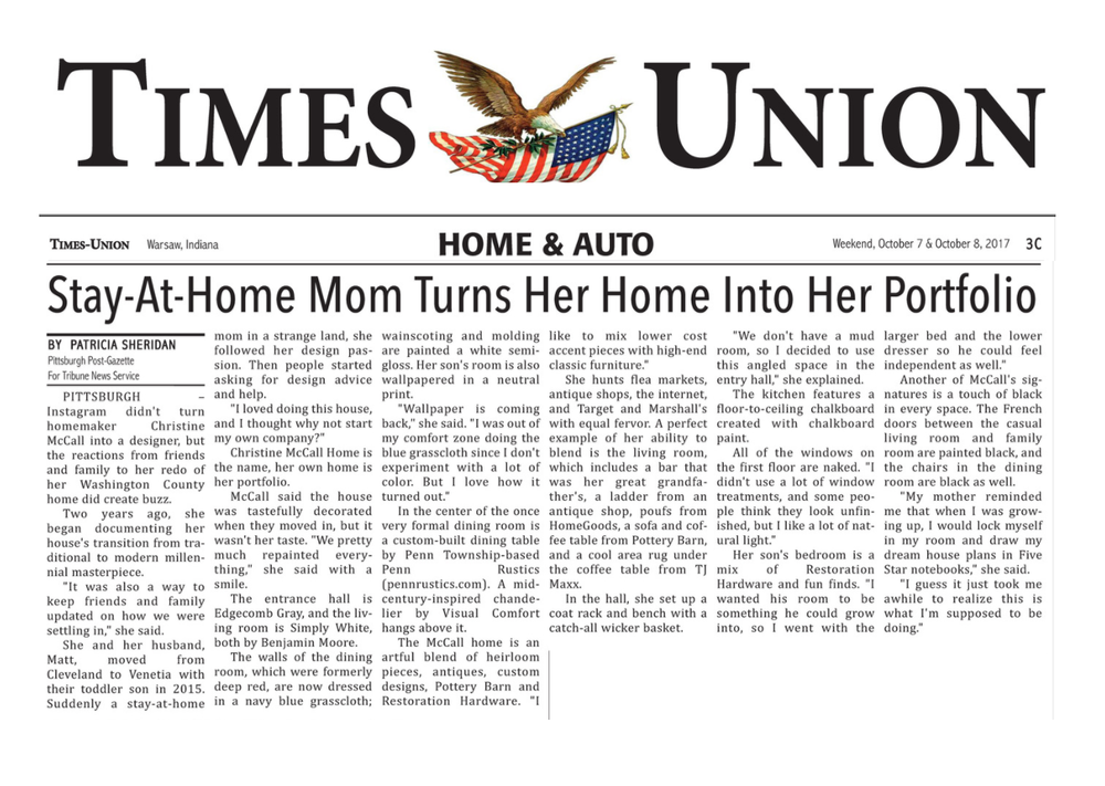 Times Union_2017_Stay-at-home mom turns her home into her porfolio.png