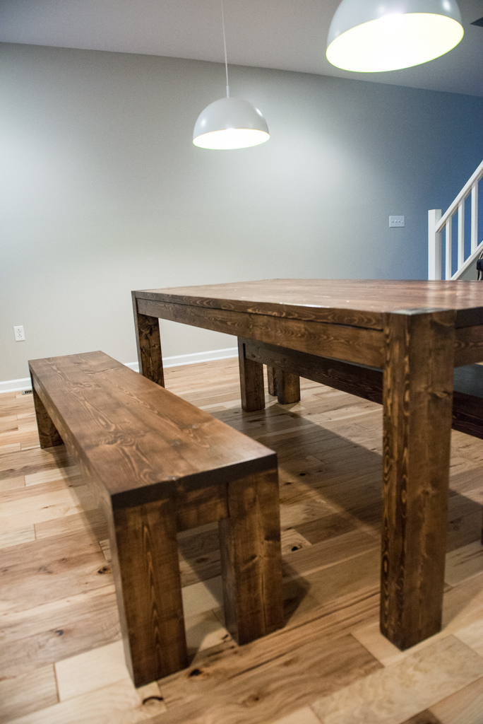 Modern Rustic Table and Bench Set. Eva2.jpg