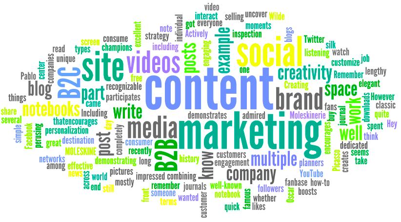 10 objetivos del marketing de contenidos