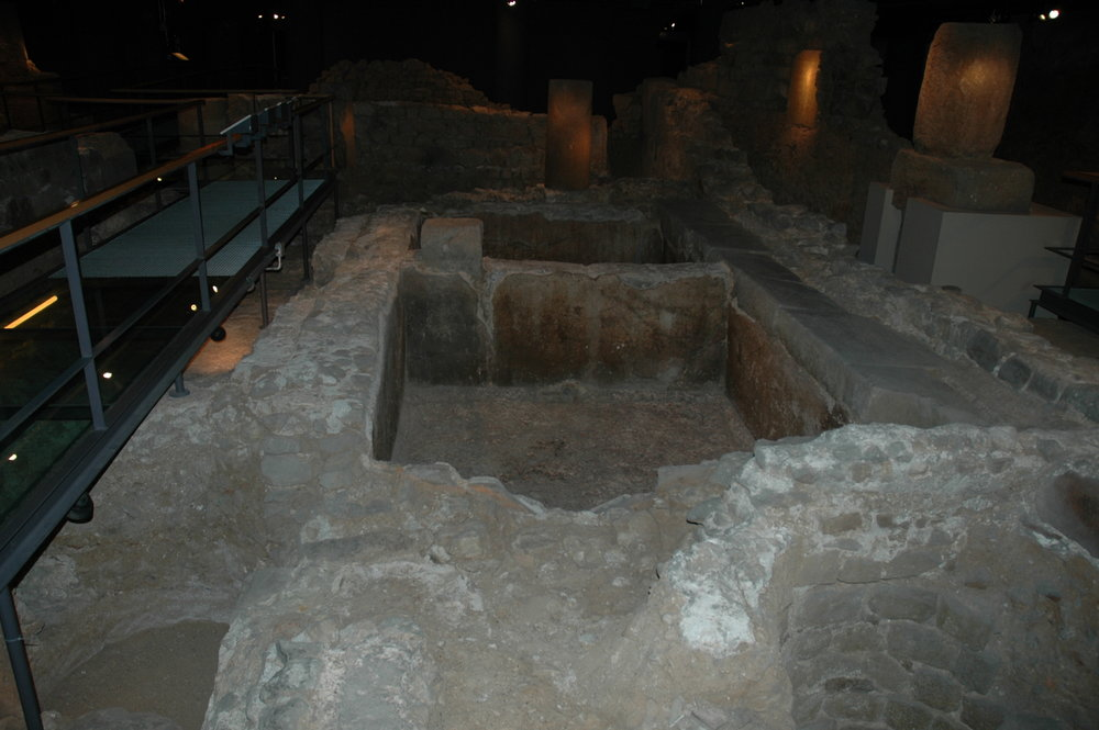 Garum vat in Barcino (Barcelona)