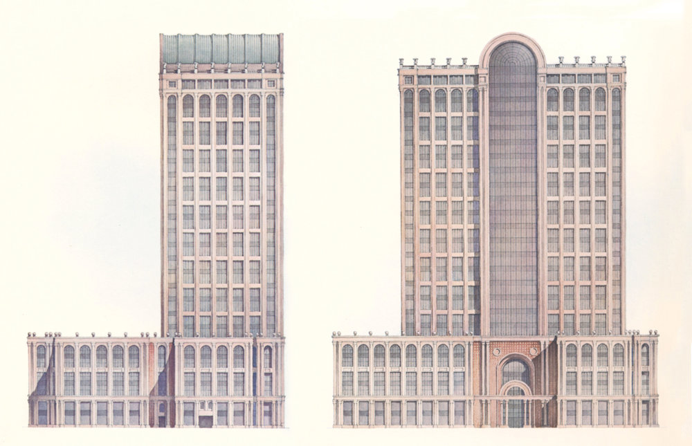 Five Hundred Boylston Street, Boston,designed by Philip Johnson, 1989