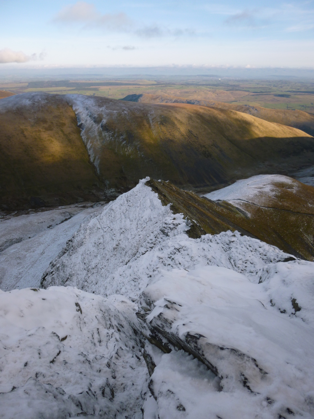 Blencathra in Winter