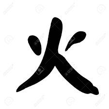 Chinese Character for Fire