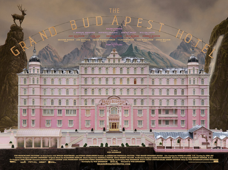 "Wes Anderson, ""The Grand Budapest Hotel"""