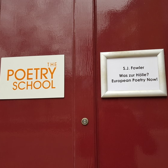 Poetry School :  European Poetry Now / Mondo / Vanguard / Maintenant & more